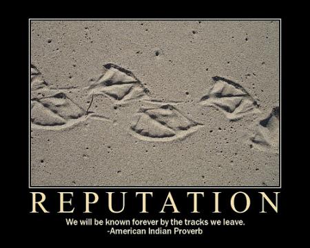 A marca da reputação